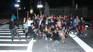 -155th Street RUN, ROLL or SK8 Social RUN (10/2/13)-
