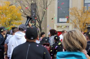 -2015 NYC Marathon Cheer Section